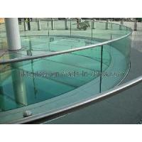 Cheap Curved Tempered Glass Balustrade (CTB-084) for sale