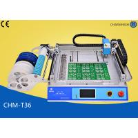 China CHMT36 Desktop SMT Pick and Place Machine , SMT equipment For LED SMD Surface Mounting on sale