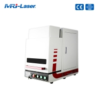 Cheap 20W Newest Enclosed Fiber Laser Marking Machine for sale
