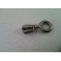 Cheap Eco-Friendly Zipper Pull Alloy Gunmetal Color For Shoes Tent / Bag for sale