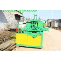 China Galvanized Wire Hanger Making Machine on sale