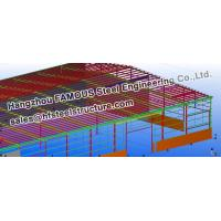 Cheap Steel Workshop Civil Engineering Structural Designs For Fabrications for sale