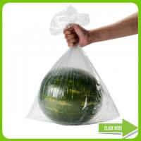 HDPE Transparent Plastic Bag On Roll , Clear Food Bags ISO9000 Certification