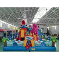 Cheap undersea world bouncy castle playground for kids for sale