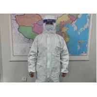 Buy cheap Waterproof Chemical Resistant Safety Protective Clothing Microporous Type from wholesalers