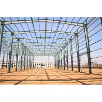 Cheap Multi Span Steel Structure Warehouse Buildings Light Metal Warehouse Construction for sale