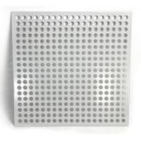 Cheap Aluminum Square Hole Perforated Metal Sheet For Room Division for sale