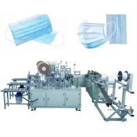Cheap 3 Layers Disposable Mask Making Machine , High Capacity Surgical Mask Making Machine for sale