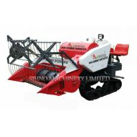 Buy cheap 14HP Engine Power 1200mm Cutting Width Mini Rice Harvester, from wholesalers