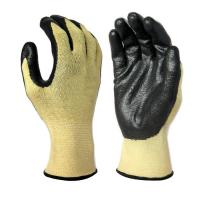 Buy cheap C2006 13 gauge aramid & spandex seamless lienr black foam nitrile palm coaitng, from wholesalers
