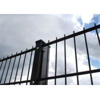 Cheap Metal 868 Black Coated Welded Wire Fence Ornamental Double Loop 2D Powder Coated for sale