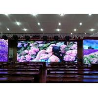 Cheap Pitch 2mm Led Video Wall Curtain , HD Indoor Led Video Walls High Definition for sale