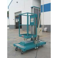 Cheap Electric industrial Sole Mast Mobile Aerial Work Platform with 9 Metres for sale