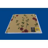 China Artistic Indoor PVC Wall Panel Luxury Flower Laminate Wall Sheets on sale