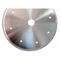 Cheap High Strength Electroplated CBN Cutting Wheel For Steel Cutting Valve Stem for sale