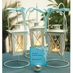 Cheap white wedding candle lantern for sale