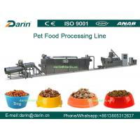 Cheap Dry Pet Food Processing Line Touch Screen Full Automatic SUS304 for sale