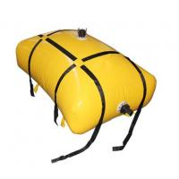 Cheap Sealed 2000 Liter Flexible Fuel Bladder ,Yellow Anti-UV Fuel Pillow Tanks for sale