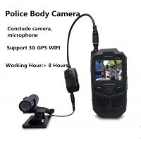 Cheap 3G Portable Police Body Worn Camera With Microphone Mini Hidden Camera System for sale