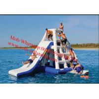 Cheap giant inflatable water floating slides, inflatable water park for sale