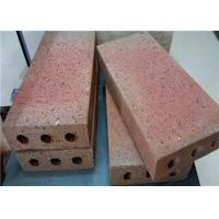 Cheap Turned Color Clay Baking Brick For Outside Road Thickness 30/40/50/60mm wholesale
