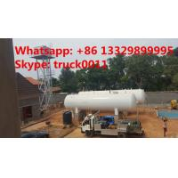 Cheap 50m3 China cheapest price domestic lpg gas tank for sale, high quality 25tons above ground lpg gas storage tank for sale wholesale