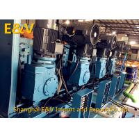 Cheap High Speed 20mm - 8mm Two Roll Mill Machine 2.5 Ton/Hour With 10 Stands for sale