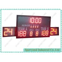 Cheap High School Wireless Control  Basketball Scoreboard and Shot Timer for sale