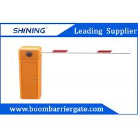 80W AC Motor Parking Lot Barrier Gate , Traffic Barrier Gate For Vehicle