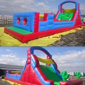 Cheap Durable Infaltable Castle Inflatable Obstacle Course Amusment Park for sale