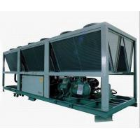 Cheap R22 Anti - Explosion Compact Air Cooled Screw Compressor Chiller LCD Touch Screen wholesale