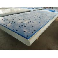 Cheap Customized Carbon Steel Impingement Plate For Marine Dock Fender System for sale