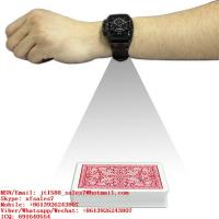 China XF New Design Watch Camera Scanner For Scanning Invisible Marking Playing Cards on sale