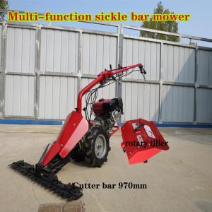 Cheap Diesel Engine powered Scythe Mower and Tiller/Cultivator for sale