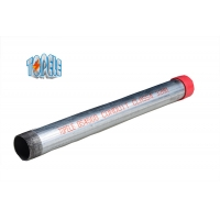Hot Dip Galvanized Steel BS4568 Conduit Class 4 GI PIPE With Coupler And Protection Cap