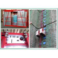 Cheap Construction Site Personnel And Materials Hoist Elevator With Safety Hook wholesale