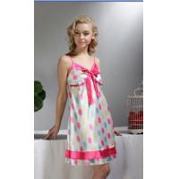 Cheap Ladies Summer Cheap Satin Sleepwear A11002 for sale