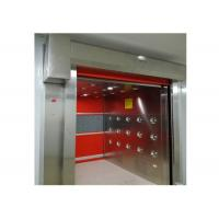China Remote Control Door Air Shower Tunnel With Three Side Auto Blowing on sale
