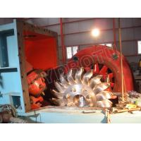 impulse water turbine / Pelton Hydro Turbine  for Hydropower Station with Water Heads 80 - 800m