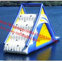 Cheap big inflatable slides, cheap inflatable water slides for sale AquaGlide Water Park for sale