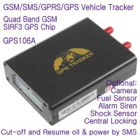 Cheap GPS106 Car Auto Taxi Truck Fleet GPS GSM Tracker W/ Photo Snapshot & Online GPRS Tracking for sale