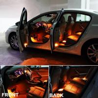 bluetooth control car interior atmosphere footwell lights. Black Bedroom Furniture Sets. Home Design Ideas