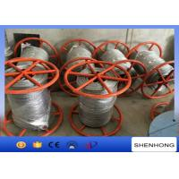 Cheap 300KN Breaking Load Anti Twist Wire Rope , Hot Dip Galvanised Steel Wire Rope for sale