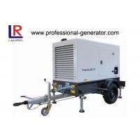 Buy cheap 550KVA Silent Type Portable Mobile Power Generator with Deutz Engine 360AMP from wholesalers
