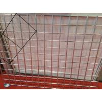 Cheap 3.0 mm Flat Surface Powder Coated Wire Mesh Panels , Galvanized Welded Fence Panels For Construction for sale