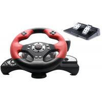 China Big 2 Axis 12 Button P3 / P2 Steering Wheel And Pedals With Auto Centering on sale