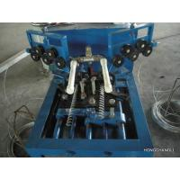 Conveyor belt wire mesh machine