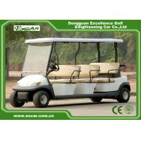 Buy cheap Safety Electric Golf Buggy Cart With Trojan Acid Battery / Customized Logo from wholesalers