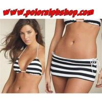 Cheap Ralph lauren women Polo Striped Pony Swimwear for sale