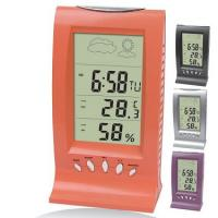 Cheap Colourful Desk Weather station LCD clock HF-8100 for sale